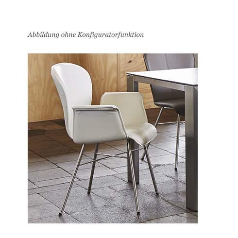 blue wall design lederstuhl mit armlehne belle blake f al. Black Bedroom Furniture Sets. Home Design Ideas