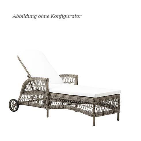 blue wall design daisy sunlounger gartenliege. Black Bedroom Furniture Sets. Home Design Ideas