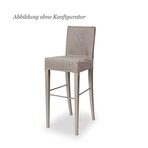 blue wall design lloyd loom edward bar stuhl. Black Bedroom Furniture Sets. Home Design Ideas