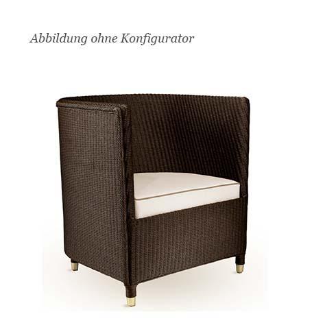 blue wall design lloyd loom sessel tokyo. Black Bedroom Furniture Sets. Home Design Ideas