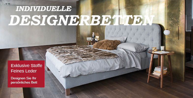 Luxus Betten blue wall design polsterbett design luxusbetten