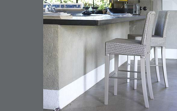 blue wall design lloyd loom edward counter stuhl. Black Bedroom Furniture Sets. Home Design Ideas