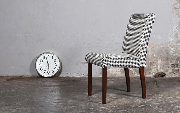 blue wall design esszimmer stuhl arnon style. Black Bedroom Furniture Sets. Home Design Ideas
