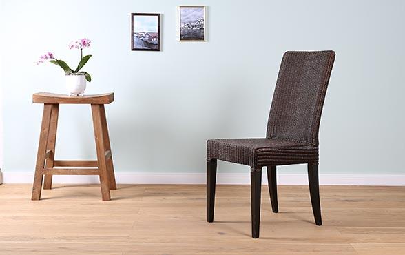 blue wall design lloyd loom stuhl edward hb. Black Bedroom Furniture Sets. Home Design Ideas