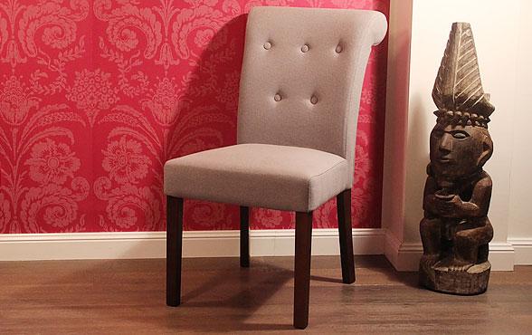 blue wall design polster stuhl etienne. Black Bedroom Furniture Sets. Home Design Ideas