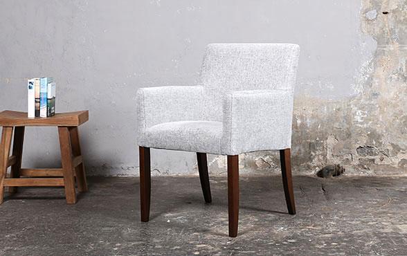 blue wall design armlehn stuhl mouzon fashion. Black Bedroom Furniture Sets. Home Design Ideas