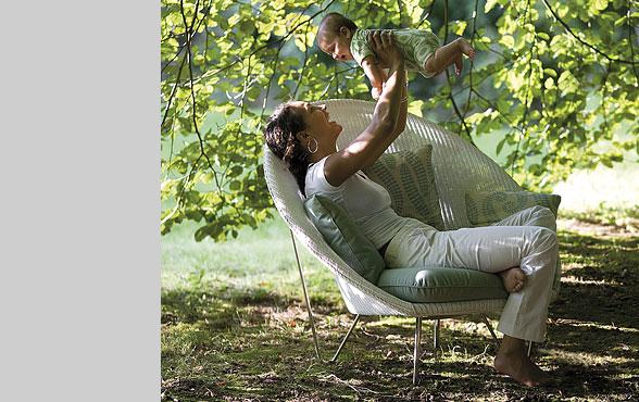 Gartensessel lounge  Blue Wall Design - Gigi Lounge Gartensessel