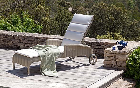 blue wall design - gartenliege deauville lloyd loom, Garten und erstellen