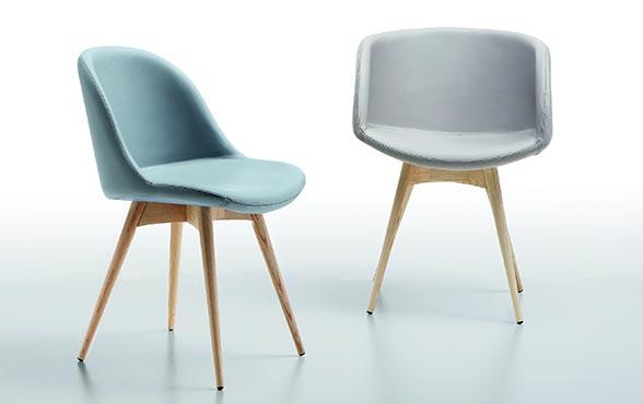 blue wall design lederstuhl via sonny ap mit armlehnen. Black Bedroom Furniture Sets. Home Design Ideas
