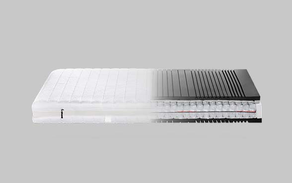 blue wall design taschenfederkern matratze my 400 t. Black Bedroom Furniture Sets. Home Design Ideas