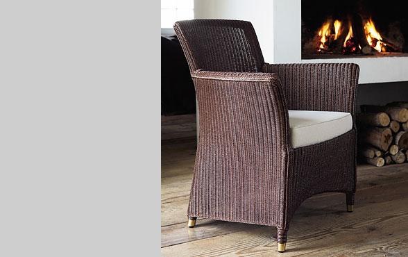 blue wall design lloyd loom sessel sydney xl. Black Bedroom Furniture Sets. Home Design Ideas